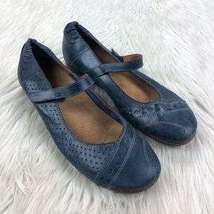 Taos Perforated Mary Jane Comfort Flats